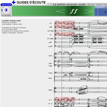 Guide d'écoute La Petite Renarde rusée de Leoš Janáček de la boîte à outils La Petite Renarde rusée