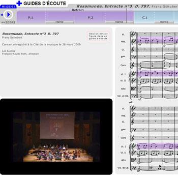Guide d'écoute Rosamunde (extrait de l'Entracte n°3) de Franz Schubert de la boîte à outils Chantez!