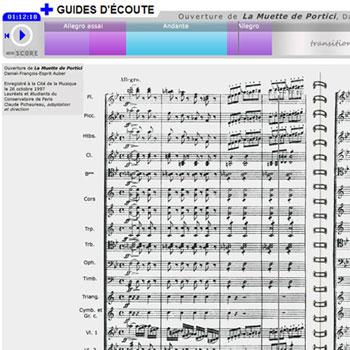 Guide d'écoute La Muette de Portici (extrait de l'Ouverture) de Daniel-François-Esprit Auber de la boîte à outils La France romantique