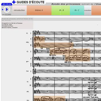 Guide d'écoute Ronde des princesses, extrait de L'Oiseau de feu de Igor Stravinski de la boîte à outils Les Ballets russes
