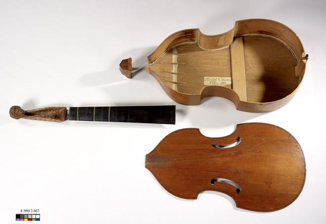 Incontournable - Basse de viole Michel Collichon - Musée de la musique