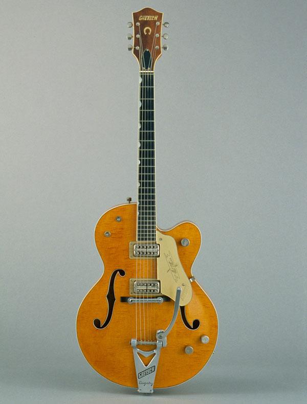 Incontournable - Guitare électrique demi-caisse modèle 6120 - Gretsch - Musée de la musique