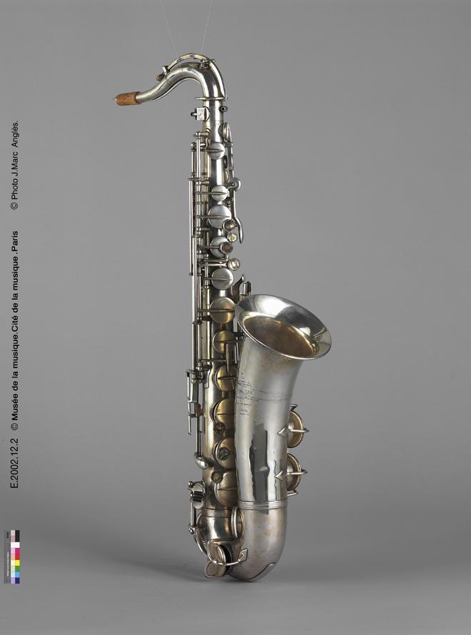Incontournable - Saxophone ténor - Musée de la musique