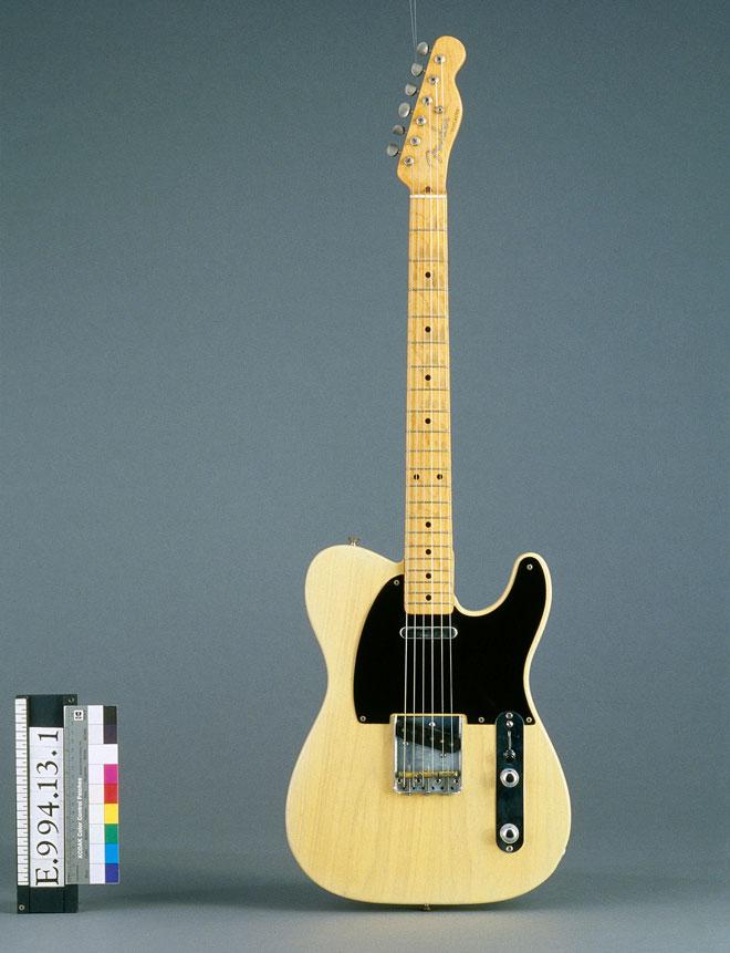 Guitare électrique modèle Telecaster Fender - Musée de la musique