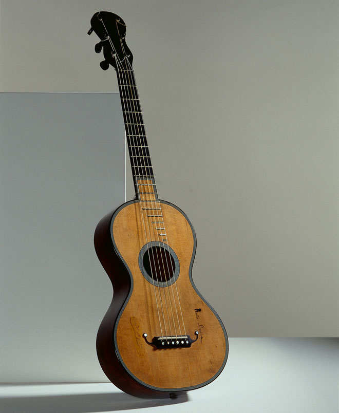 découvrir la guitare de Jean Nicolas Grobert