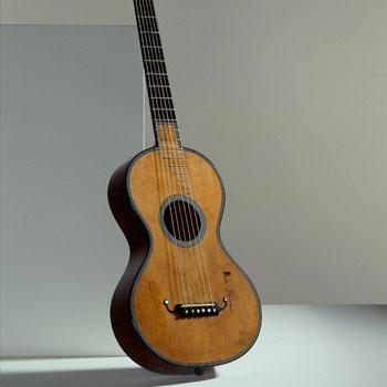 Exposition du Musée de la musique, Travelling Guitars - Guitare Nicolas Grobert