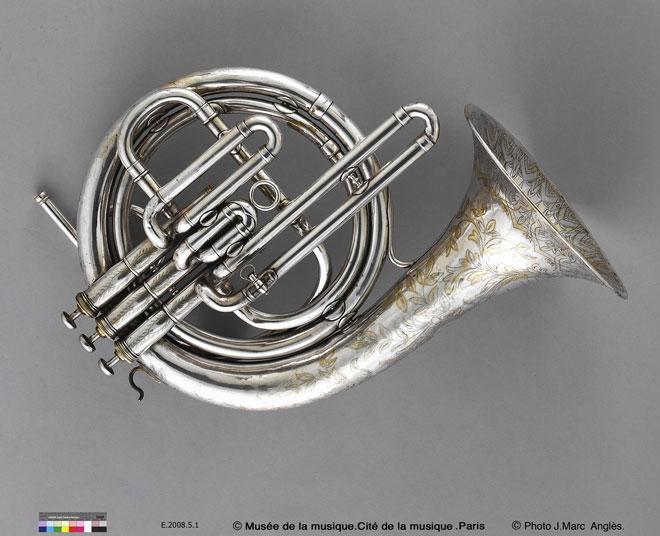 Incontournable - Cor vocal en ut - François Millereau - Musée de la musique