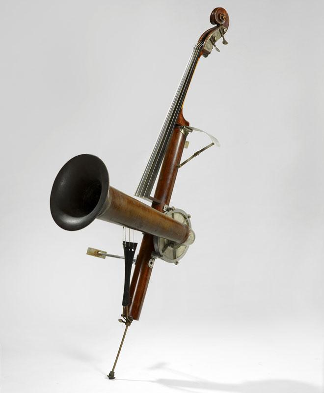 Incontournable - Violoncelle à pavillon « Stroviols » - Musée de la musique