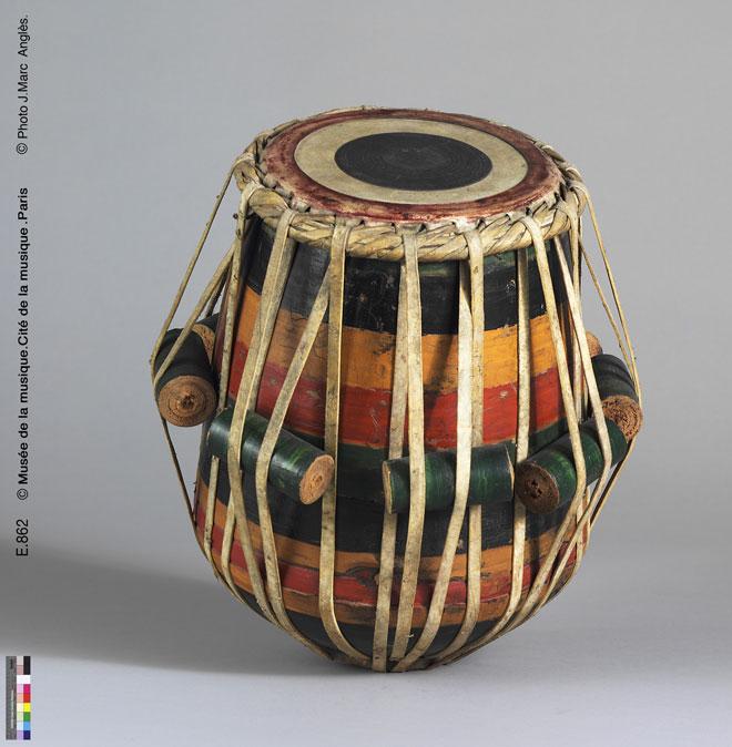 Incontournable - Tabla - Musée de la musique