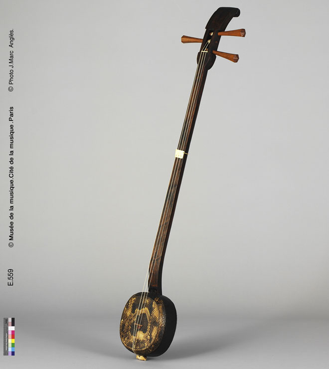 Incontournable - Luth sanxian - Musée de la musique