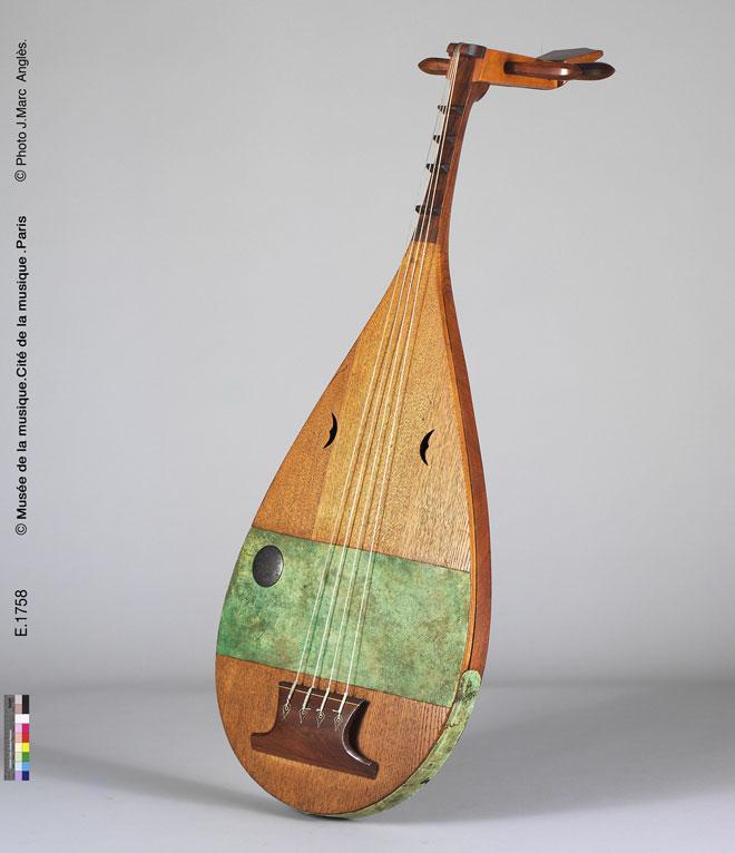 Incontournable - Luth biwa - Musée de la musique