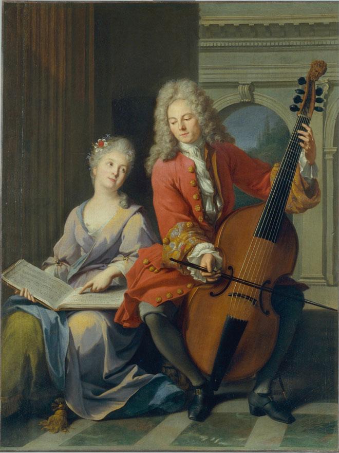Incontournable - La leçon de musique - Jean-Marc Nattier - Musée de la musique