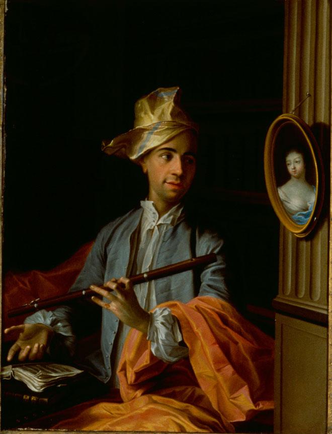 Incontournable - Portrait d'homme avec flûte - Musée de la musique