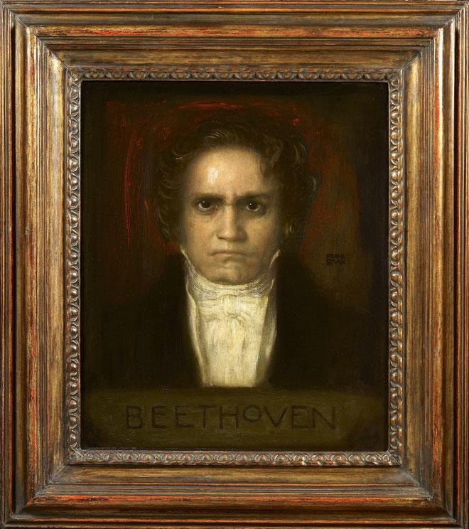 Portrait de Ludwig van Beethoven, Franz von Stuck © Claude Germain, Musée de la musique