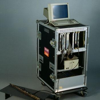 La station informatique de l'Ircam de 1984
