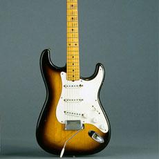 Guitare électrique Stratocaster - Fender © Musée de la musique