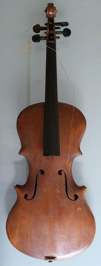Instrument incontournable - Violon Curt Oltzscher - Musée de la musique