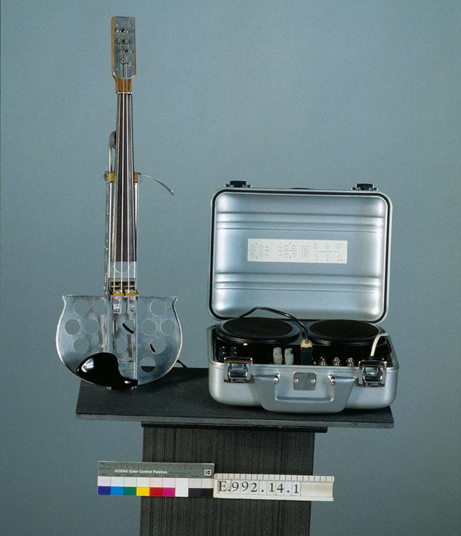 Incontournable - Violon électronique - Max Mathews, Bell Laboratories - Musée de la musique