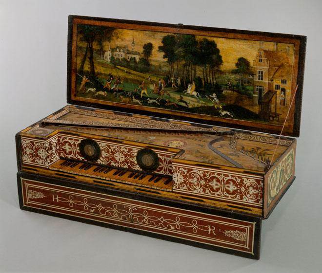 Instrument incontournable - Virginale à la quinte - Hans Ruckers - Musée de la musique