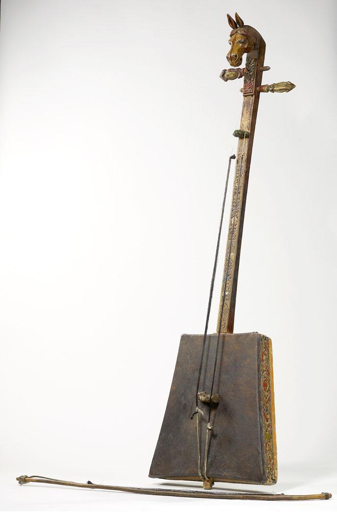 Instrument incontournable - Vièle Morin Huur - Musée de la musique