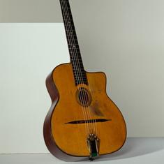 Instrument à cordes, Guitare Django Reinhardt d'Henri Selmer