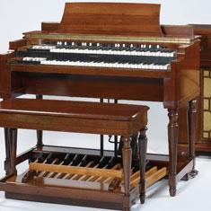 Orgue électromécanique Hammond, Modèle A - E.995.18.1 |