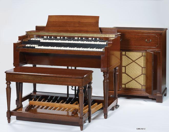 Instrument incontournable - Orgue électromécanique Hammond, Modèle A - Musée de la musique