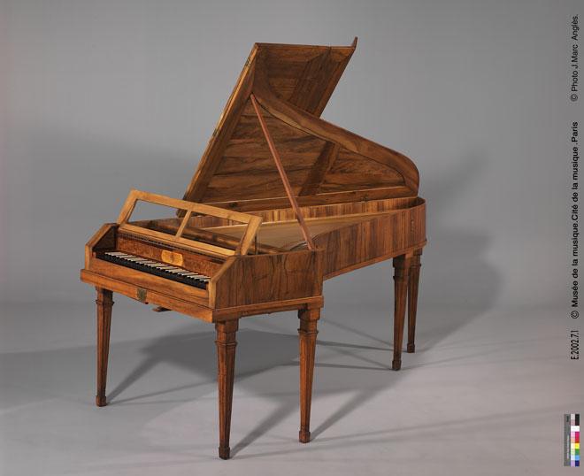 Incontournable - Piano à queue Gräbner frères - Musée de la musique