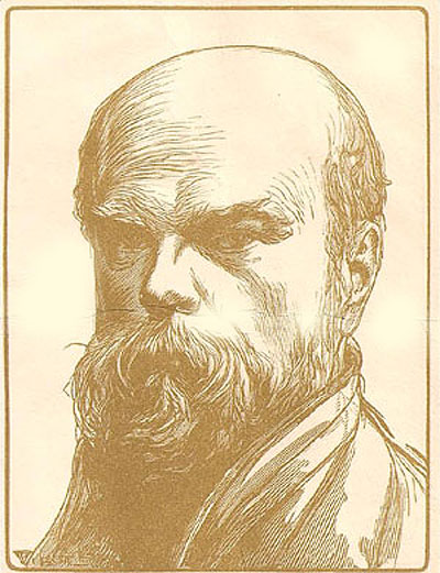 Paul Verlaine par Lobel-Riche