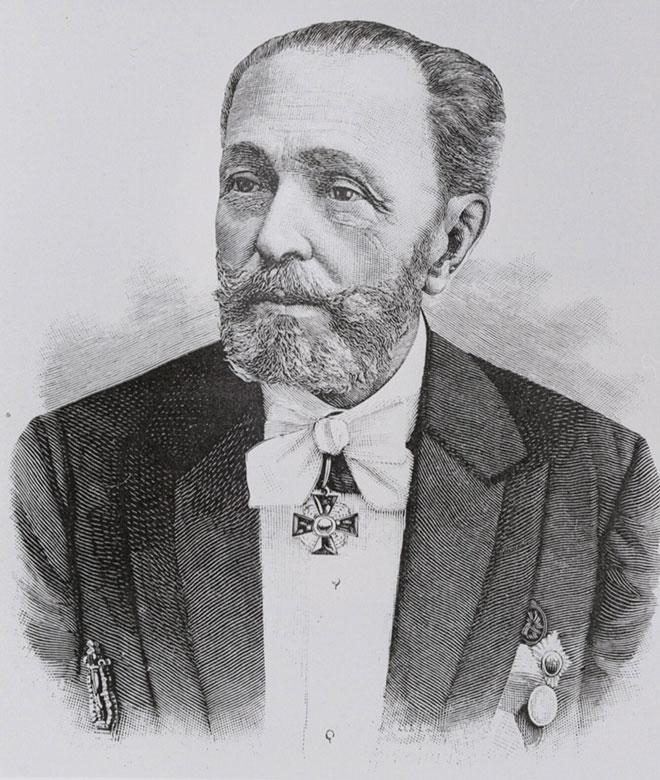 Marius Petipa, 1899. Library of Congress