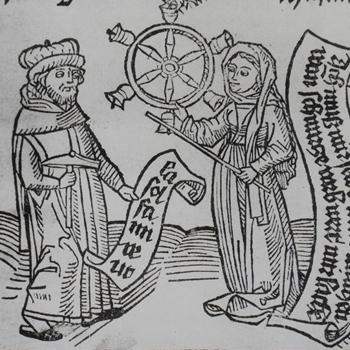 Pythagore et la Musique, titre des traités ed. Augsbourg, 1500. Gallica-BnF