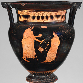 Vase grec en terre cuite, vers 475-465 avant J.-C. MET Museum/CC0