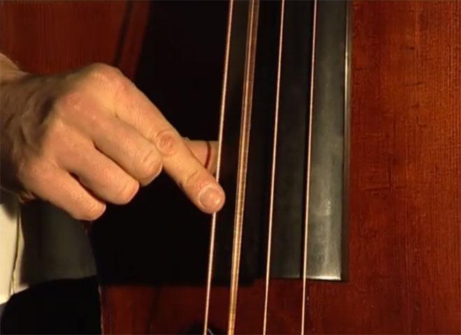 Aperçu de la contrebasse dans le jazz, réalisation de Fleur Albert, Manuel Marchès à la contrebasse, 2006 © Éditions Cité de la musique