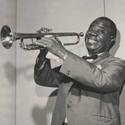 Louis Armstrong © NY Public Library, digital collections