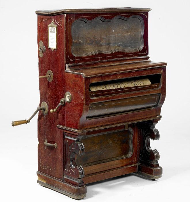Piano mécanique, vers 1920 © Claude Germain - Philharmonie de Paris - Musée de la musique