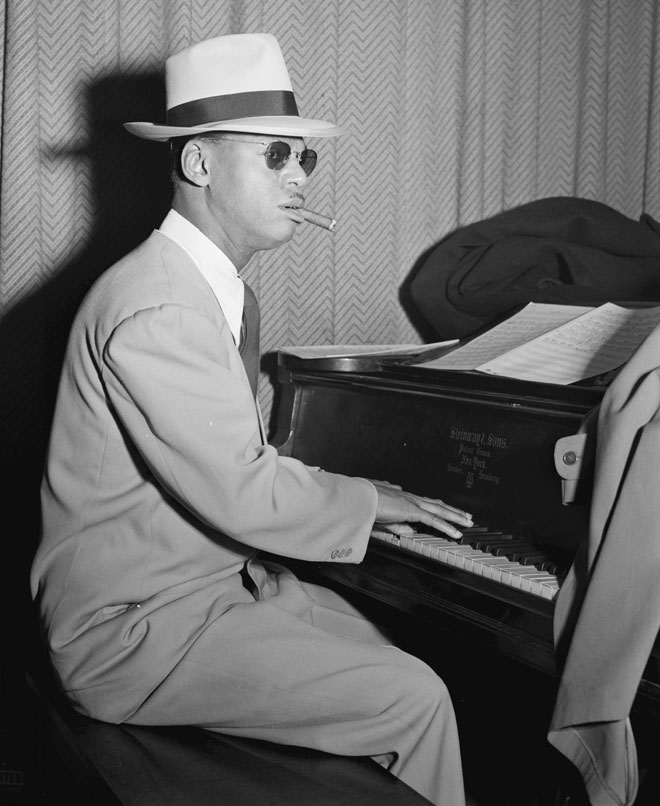 Portrait de Earl Hines © William Gottlieb - Library of Congress