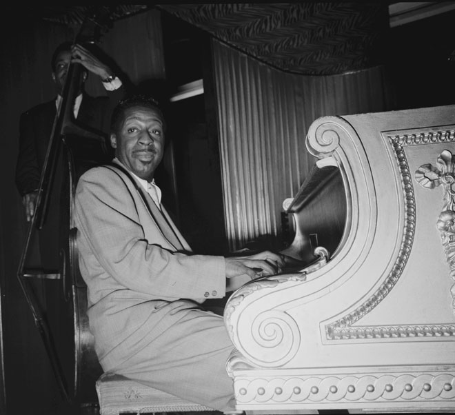 Portrait de Erroll Garner © William Gottlieb - Library of Congress