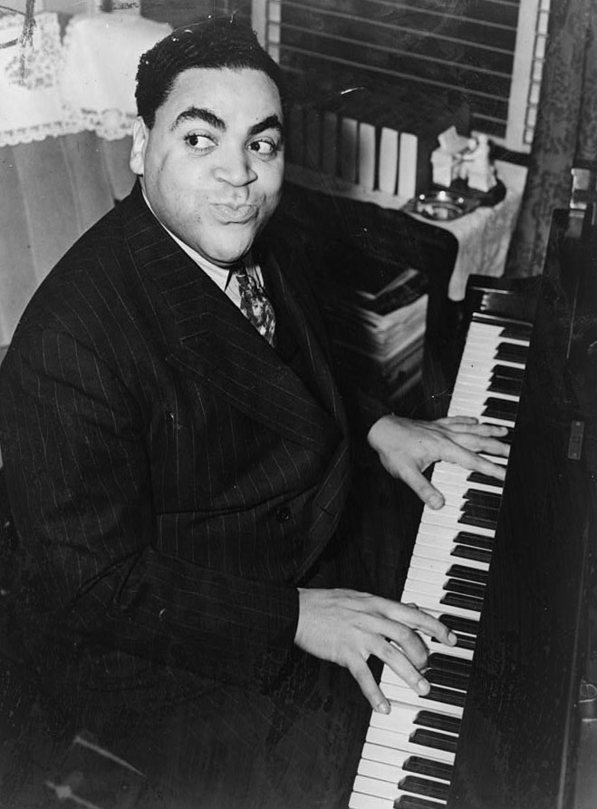 Portrait de Fats Waller © Alan Fisher - Library of Congress