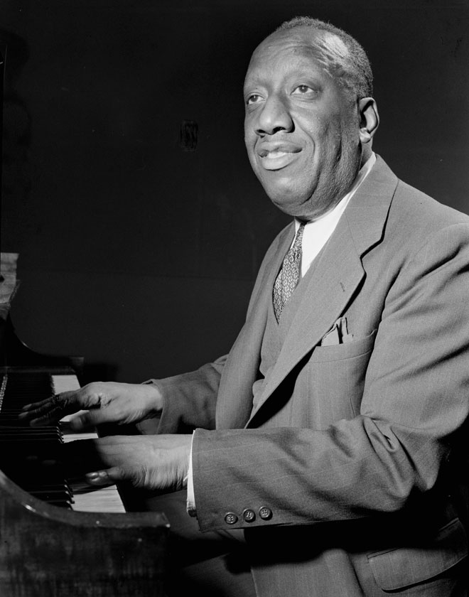 Portrait de James Price Johnson © William Gottlieb - Library of Congress