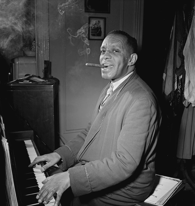 Portrait de Willie Smith © William Gottlieb - Library of Congress