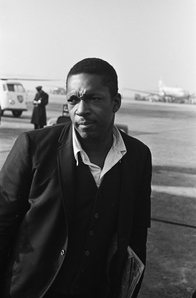 John Coltrane © Hugo van Gelderen - National Archives of the Netherlands - Anefo