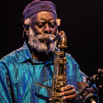 Pharoah Sanders © Maxime Guthfreund