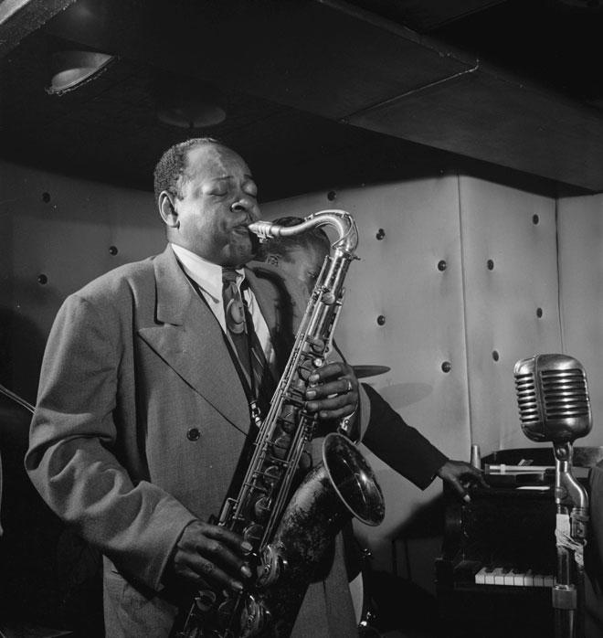 Portrait de Coleman Hawkins, 1947 © William Gottlieb - Library of Congress
