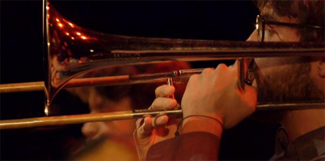 Filippo Vignato, concert enregistré à la Cité de la musique le-14 septembre 2014 © Philharmonie de Paris