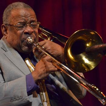 Le trombone dans le jazz: lèvres et coulisses |