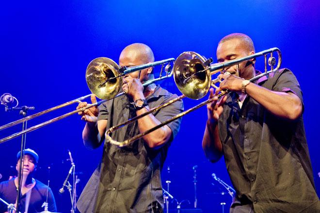 Hyptonic Brass Ensemble, Jazz à la Villette 2012 © DR