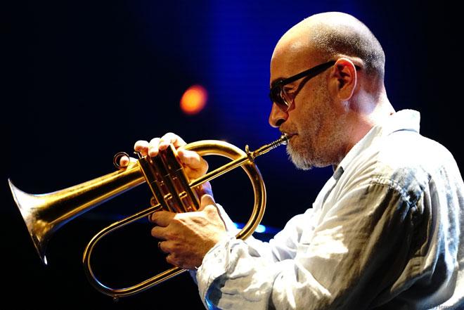 Stéphane Belmondo au bugle © Charles d'Hérouville