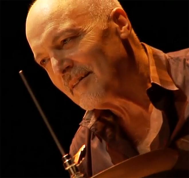Aldo Romano, concert enregistré à la Cité de la musique le 4 septembre 2011 © Cité de la musique - Philharmonie de Paris