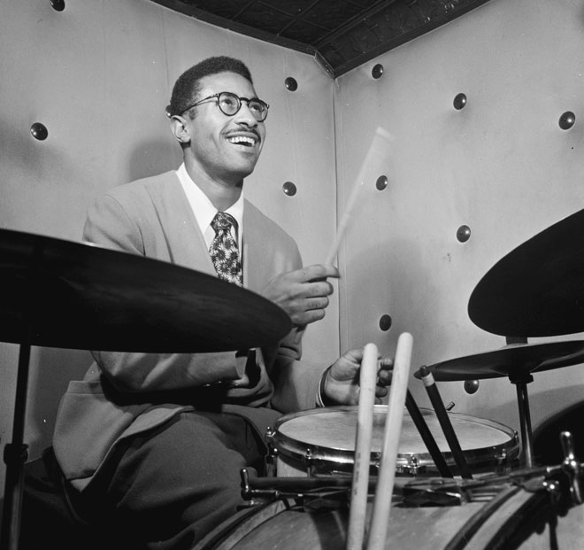 Max Roach © William Gottlieb - Library of Congress