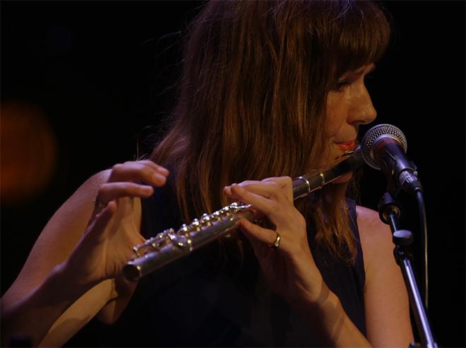 Élise Caron, concert à la Cité de la musique le 02/09/16. Réalisation : Josselin Carré. Cité de la musique - Philharmonie de Paris